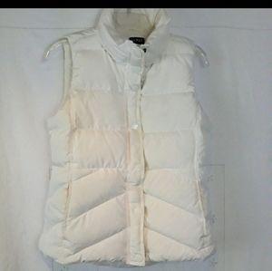 J. Crew down puffer vest